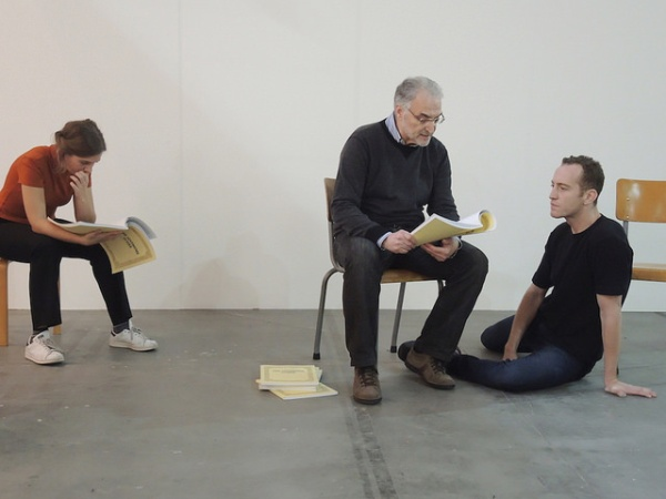<p>Dora García, <em>The Synthome Score</em>, 2016, Performance at Artissima</p>