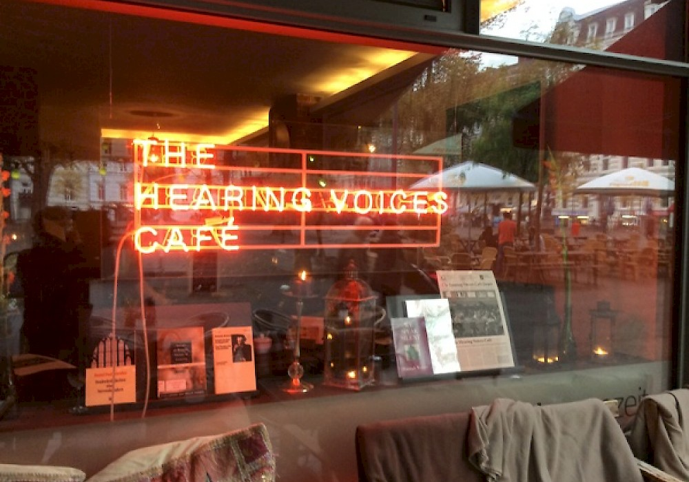 <p>Dora García, <em>The Hearing Voices Café</em>, 14 Oct - 19 Nov 2014, Hamburg</p>